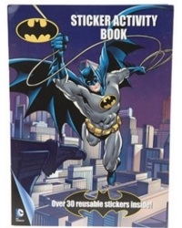 Image of 12 x Batman A4 Sticker Activity Books