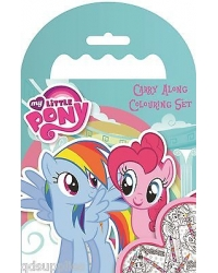Image of 12 x My Little Pony Carry Along Colouring Sets