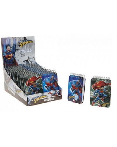 24 x Superman Notepads