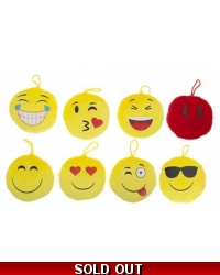 12 x Emoji Plush 'Icons'