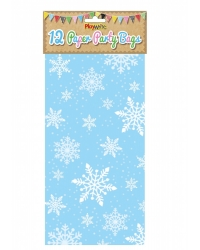 Image of 144 x Snowflake Paper Party Bags