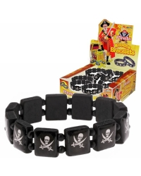 Image of 60 x Pirate Wooden Wristbands