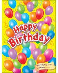 Image of 100 x Happy Birthday Party Bags