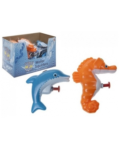 24 x Dolphin & Seahorse Water Pistols