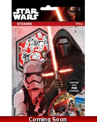 Image of 12 x Star Wars 700 Stickers