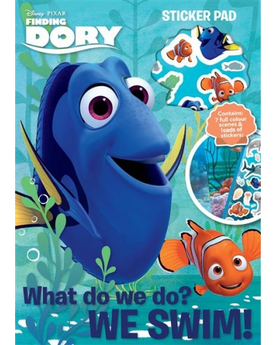 12 x Finding Dory Sticker Pads