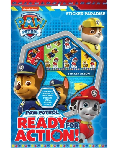 12 x Paw Patrol Sticker Paradise Sets