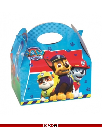 24 x Paw Patrol Party Food Boxes