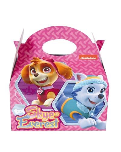 24 x Girls Paw Patrol Food Boxes