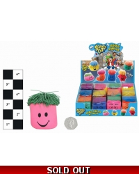 Image of 12 x Squeeze Smiley Face Stress Toys