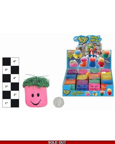 12 x Squeeze Smiley Face Stress Toys