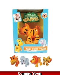 Image of Wrapped Grotto Toys - Clicking Jointed Animals x12