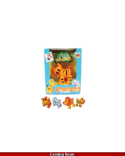 Wrapped Grotto Toys - Clicking Jointed Animals x12