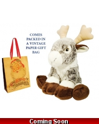 Image of Wrapped Grotto Toys - Plush Rodney Reindeer x 6