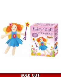 Image of Wrapped Grotto Toys - Fairy Doll Craft Kits x 6