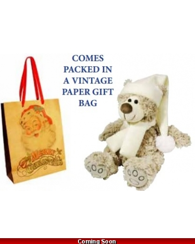 Wrapped Grotto Toys - Tilly The Teddy 20cm x 6