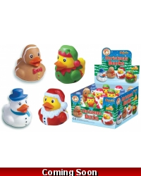 Image of 24 x Christmas Rubber Ducks