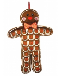 Image of 3 x Gingerbread Man Advent Calendar 65cm