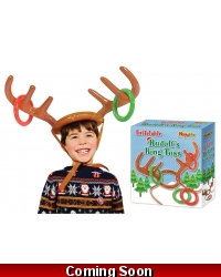 Image of 6 x Inflatable Reindeer Antler Ring Toss Games