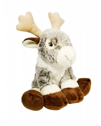 Image of 6 x Luxury Rodney Reindeer Plush Toys