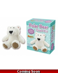 Image of Wrapped Grotto Toys - Polar Bear Craft Kits x 6