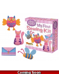 Image of Wrapped Grotto Toys - My First Sewing Kits x 6