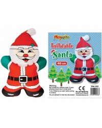 Image of 12 x Inflatable Santa 40cm
