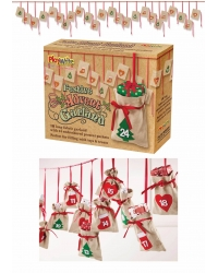 Image of 1 x Advent Calendar Christmas Bunting