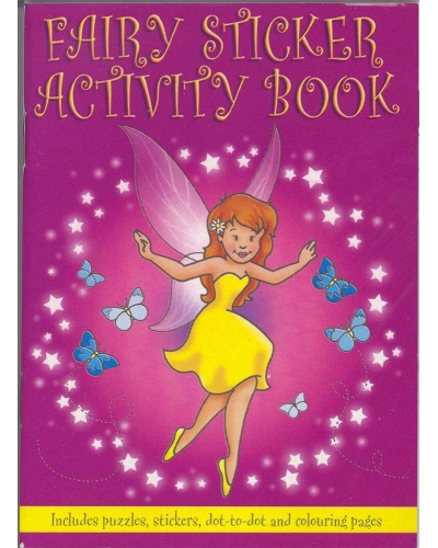 24 x Fairy Sticker Activity Books