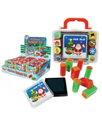 Image of 12 x Christmas Ink Pad Stamper Cases