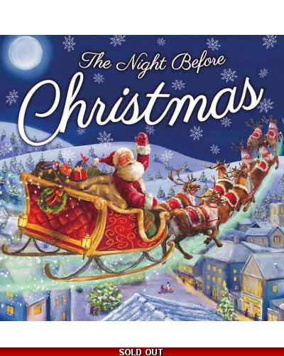 Wrapped Grotto Toys - The Night Before Christmas Book x 10