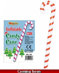Image of 12 x Inflatable Candy Canes 90cm