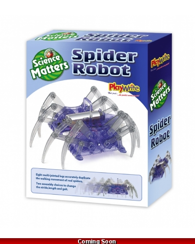 Wrapped Grotto Toys - Spider Robots x 6