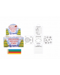 Image of 36 x Foldout Christmas Colouring ActivityPacks