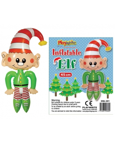 12 x Inflatable Christmas Elf 45cm