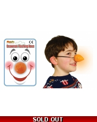 Image of 12 x Flashing Snowman Carrot Noses