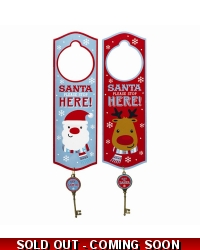 24 x Christmas Door Hanger With Magic Key