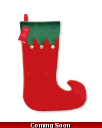 Image of 24 X Elf Stockings With Bells