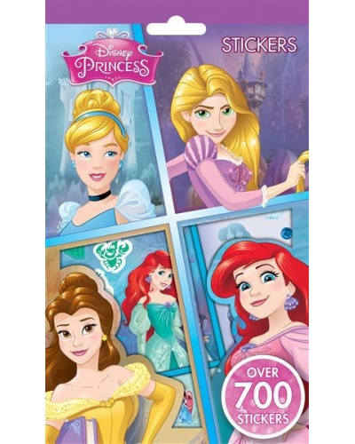 12 x Disney Princess 700 Stickers