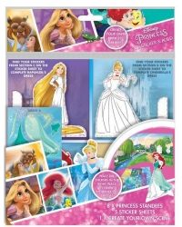 Image of 12 x Disney Princess 3D Sticker & Build Sets