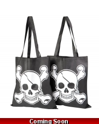 Image of 12 x Pirate Canvas Tote Bags