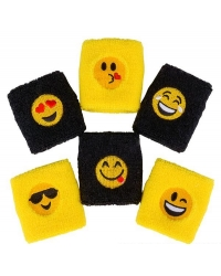 Image of 12 x Emoji Sweat Bands