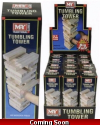 Image of 12 x Wooden Tower Game 48pc