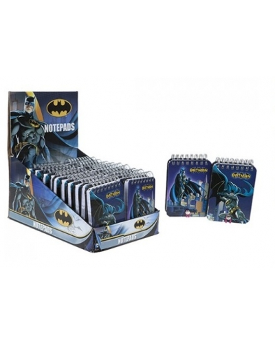 24 x Batman Notepads