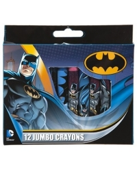Image of 12 x Batman Jumbo Crayon Sets 12pk