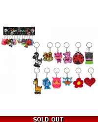 Image of 144 x Assorted Keyrings