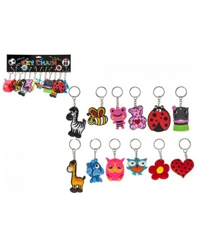144 x Assorted Keyrings