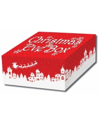 Image of 12 x Traditional Design Christmas Eve Boxes