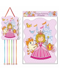 Image of 12 x Princess Pull String Pinatas