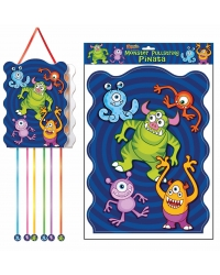 Image of 12 x Monster Pull String Pinatas